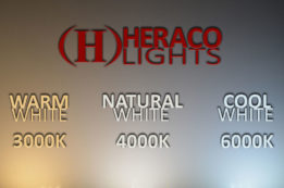 Warm White vs Natural White vs Cool White LEDs