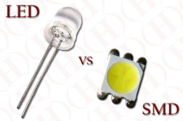 LED vs SMD diode