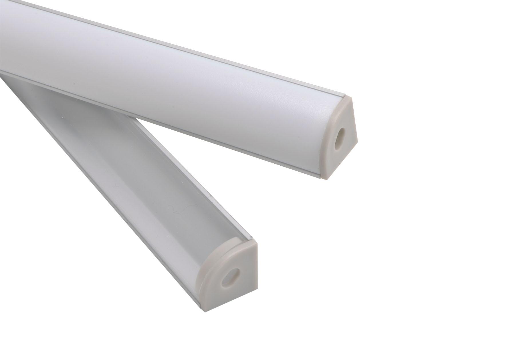 Led Under Cabinet Light Corner Mount LED Strip Fixture | Heraco Lights
